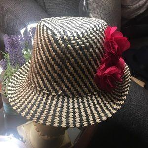 Cute Child's Oshkosh Straw Hat